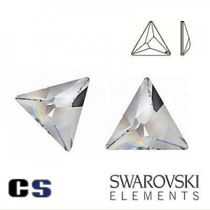 2721 Swarovski Asymmetric Triangle Crystal CAL 10 mm